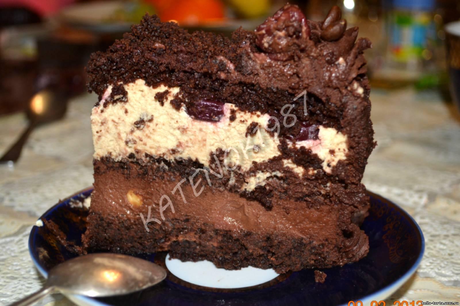Рецепт вкусного шоколадного торта пошагово отзывы