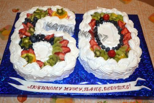 Торт на 60 лет торт цифра 60 торты для
